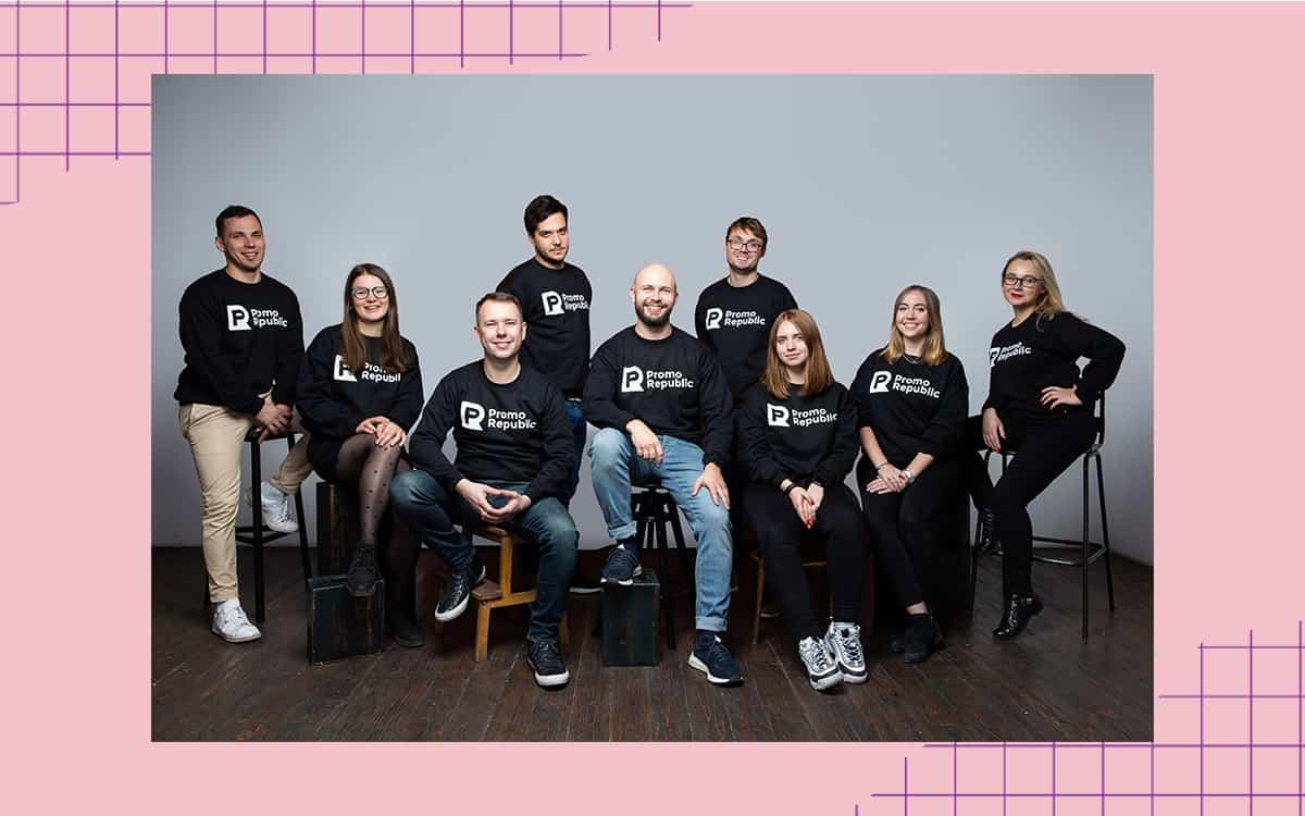 Команда стартапу PromoRepublic