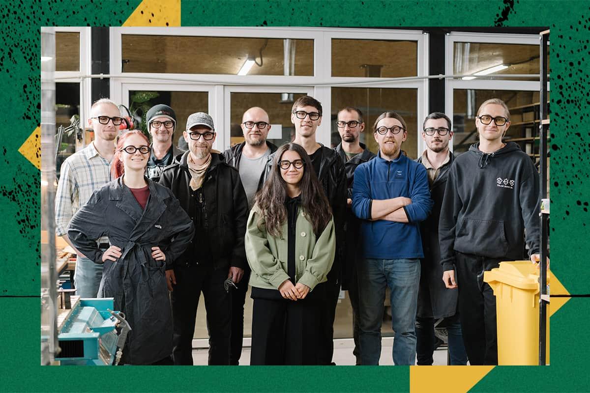 Команда стартапа Ochis