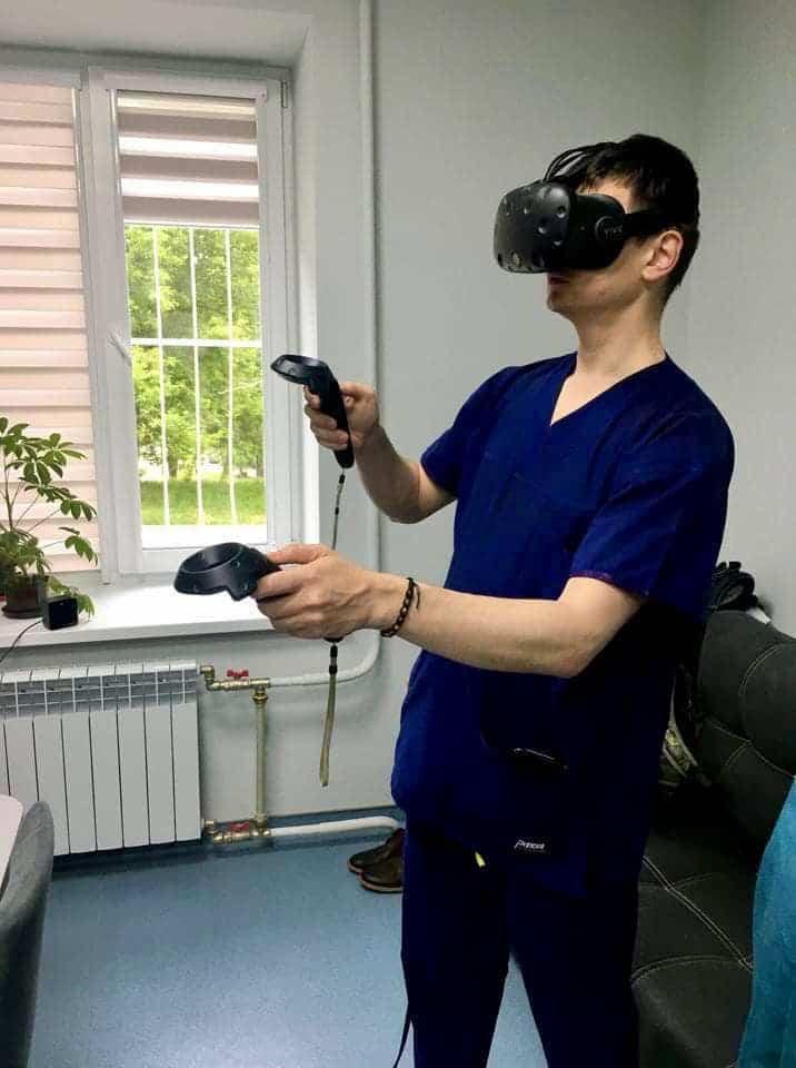В Украине провели первую операцию с использованием VR
