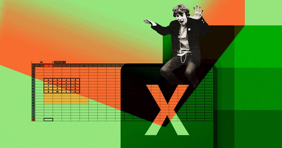 Бесконечная таблица. Почему Excel все еще актуален