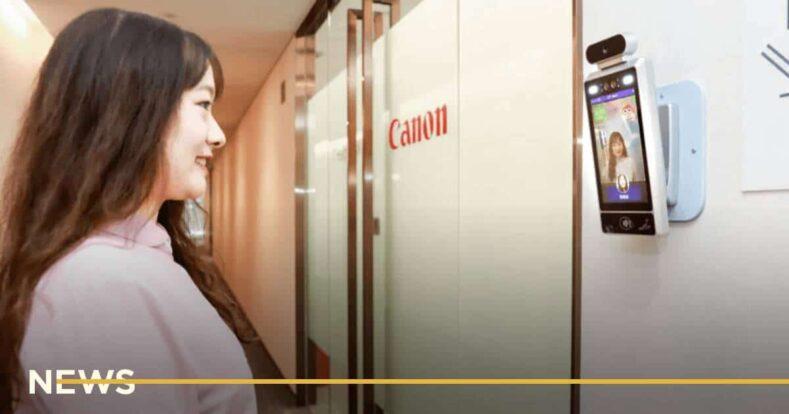 Canon установила «умные» камеры, которые пропускают только улыбающихся сотрудников