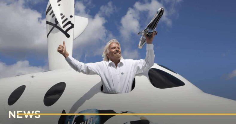 Миллиардер Ричард Брэнсон полетит в космос раньше Джеффа Безоса