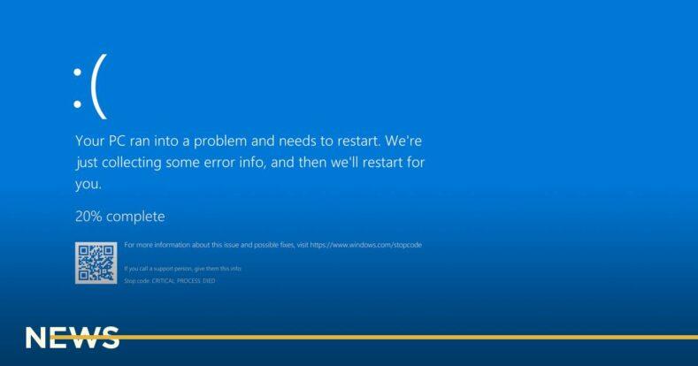 Microsoft заменит легендарный «синий экран смерти» в Windows 11