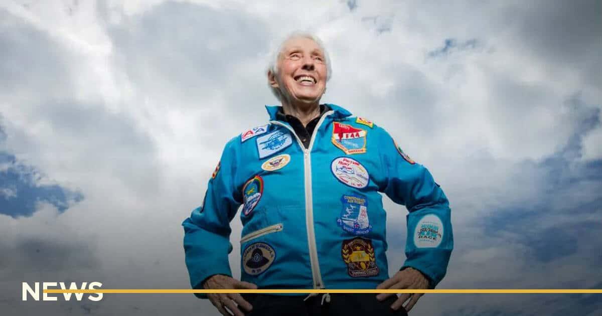 82-летняя летчица Уолли Фанк полетит в космос вместе с Джеффом Безосом