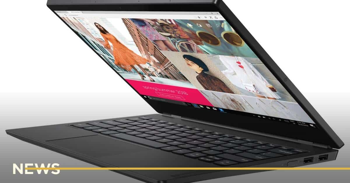 Українець запатентував ноутбук з двома екранами. Як він виглядає?