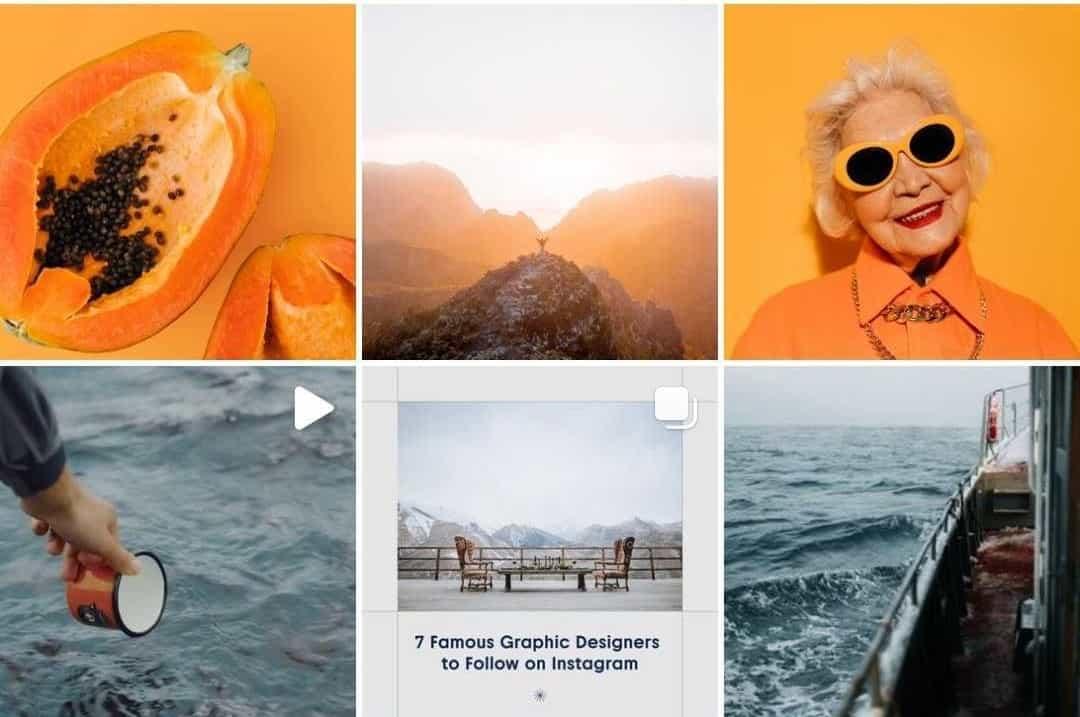Лента Instagram-аккаунта Depositphotos