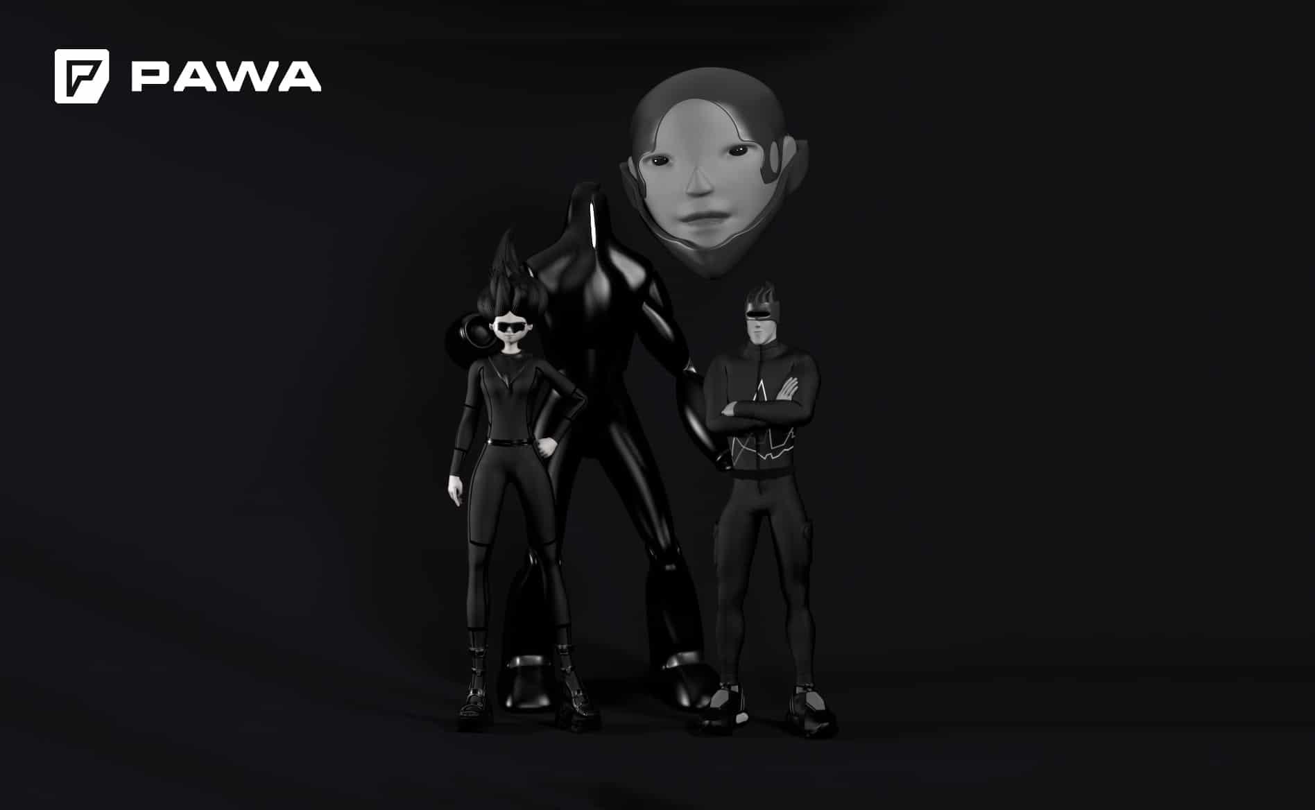 Pawa Team 3D-маскоты