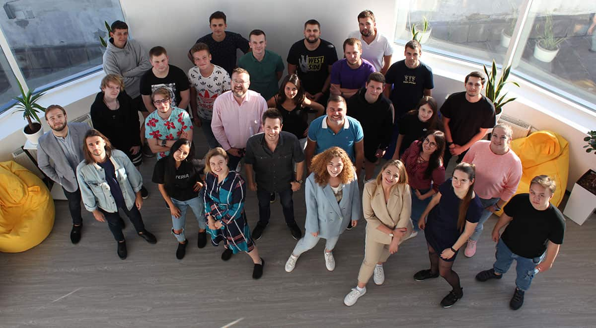 Команда финтех-стартапа Corefy