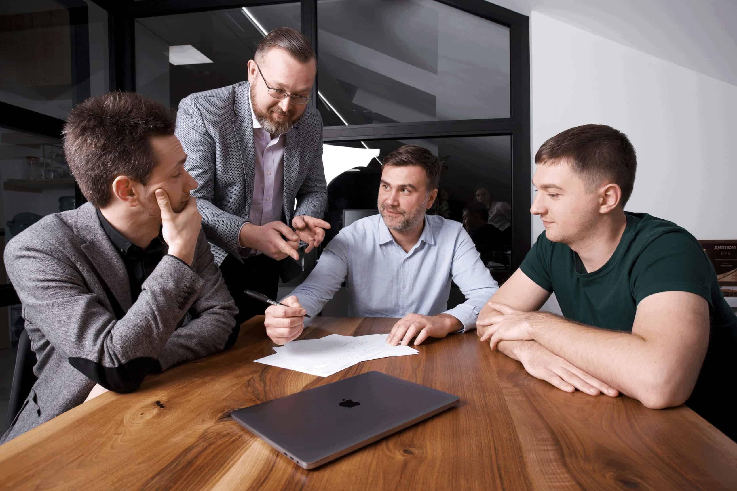 Команда украинского финтех-стартапа