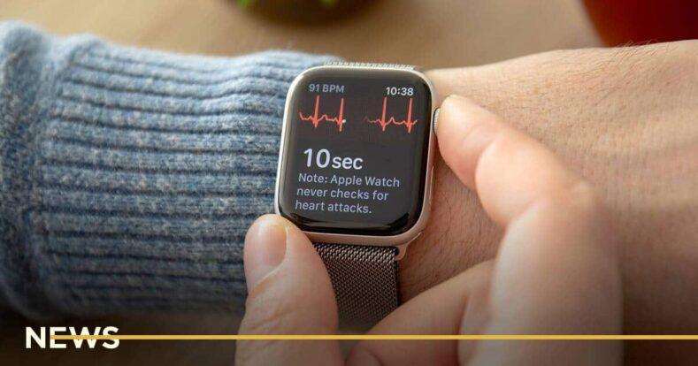 В Украине заработала функция снятия ЭКГ на Apple Watch