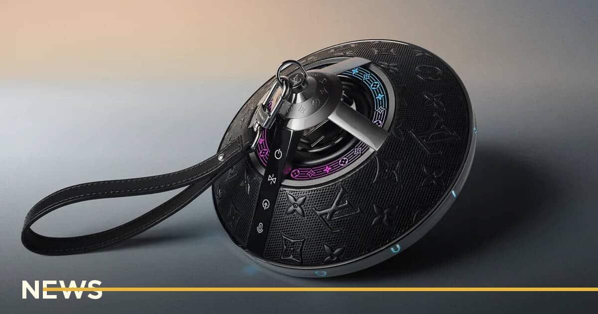 Louis Vuitton випустив Bluetooth-колонку, схожу на космічний артефакт