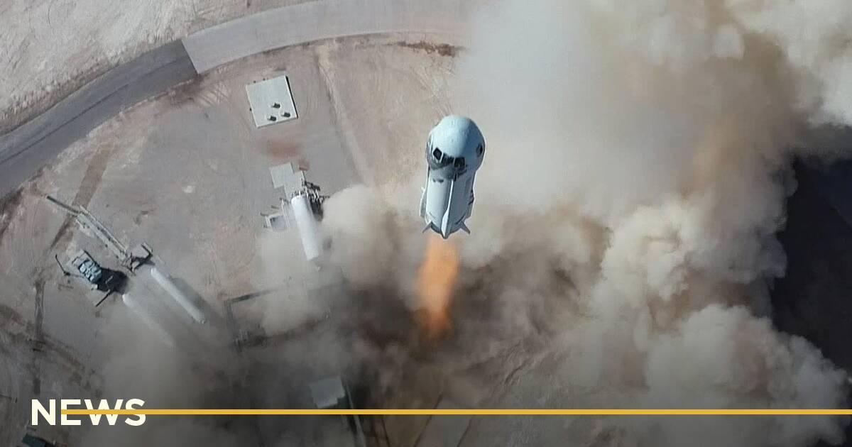 Джефф Безос успішно здійснив політ у космос
