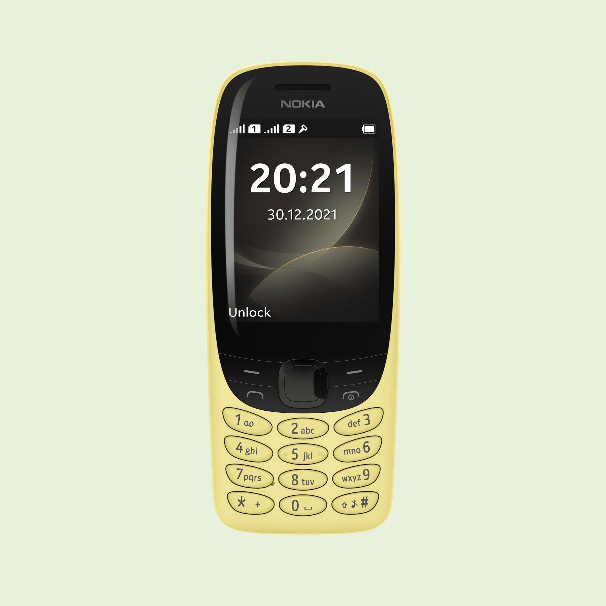 Оновлена модель Nokia 6310