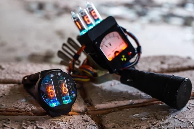 Український NIXOID Lab зібрав на Kickstarter 4 207 на лампові наручні годинники