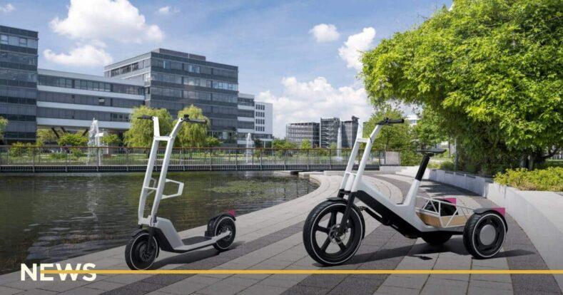 BMW представила трьохколісний електровелосипед і самокат
