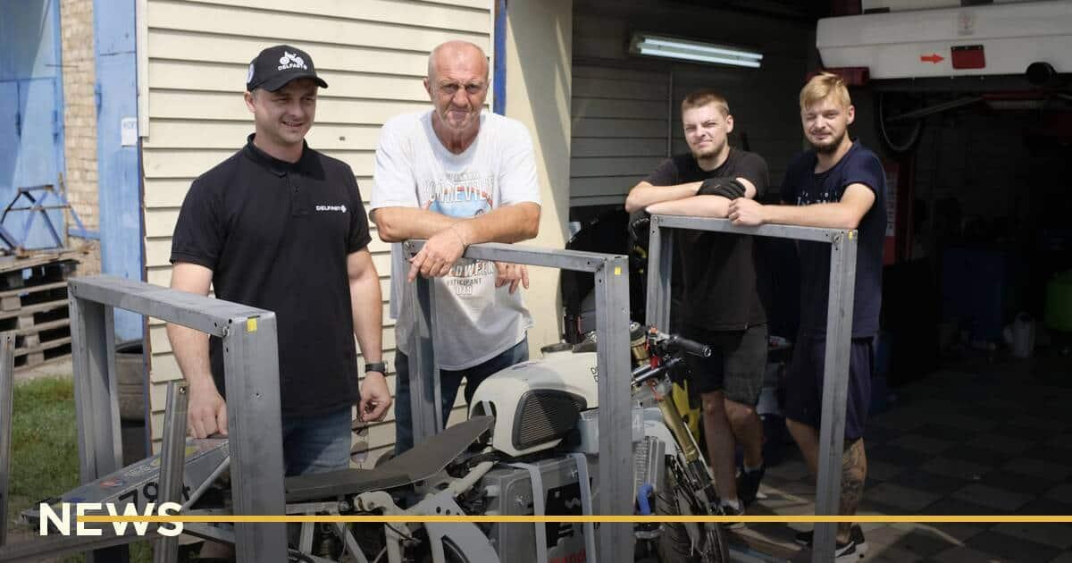 Delfast відроджує легендарний мотоцикл «ДНЕПР», щоб встановити на ньому швидкісний рекорд у Бонневіллі