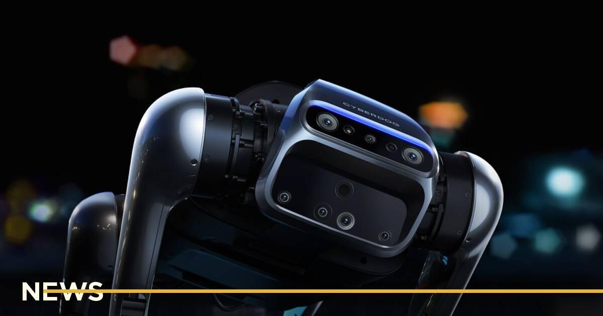 Xiaomi представила робопса CyberDog як у Boston Dynamics, але у 50 разів дешевше