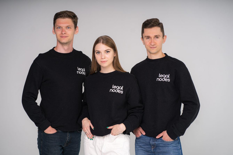 Основатели стартапа Legal Nodes