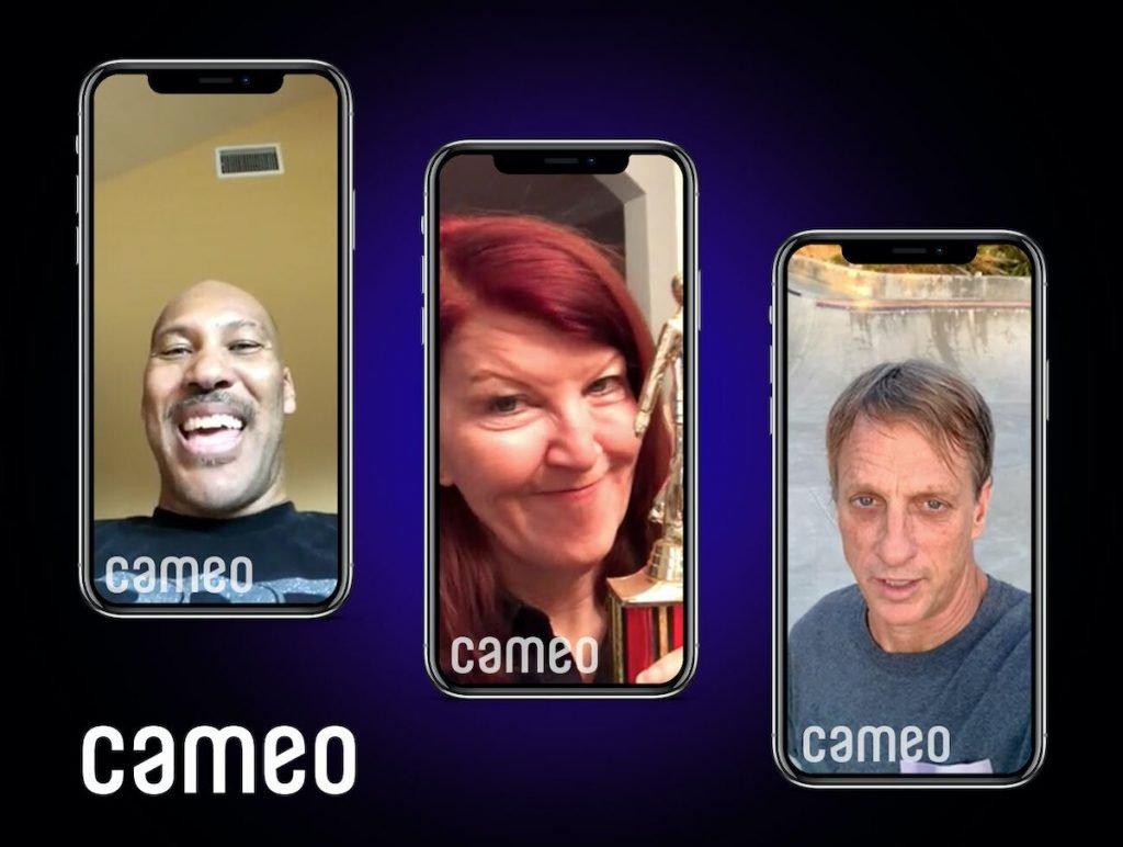 Сервис Cameo запустил видеочаты со знаменитостями