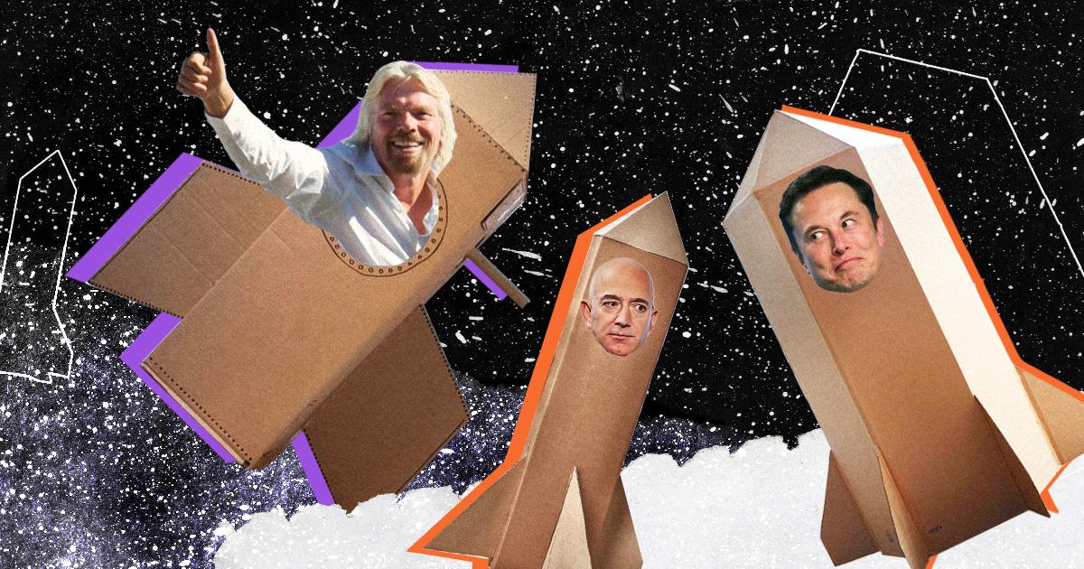 Как Маск, Безос и Брэнсон меняют космическую отрасль