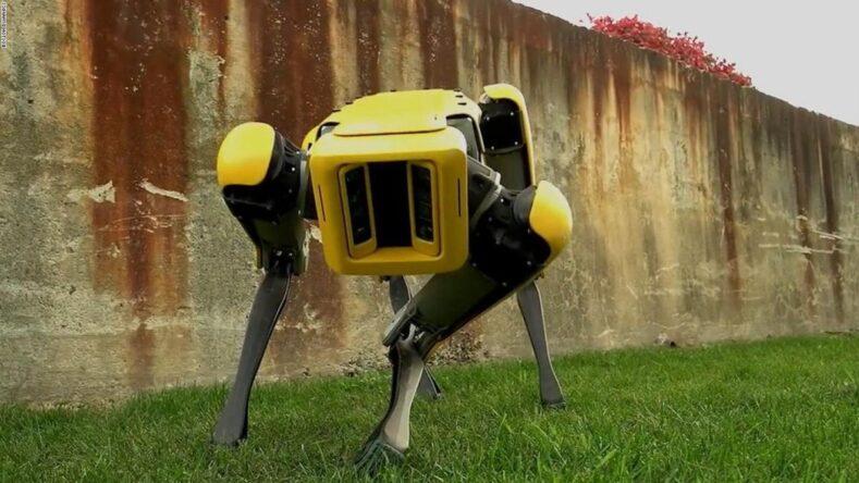 Робот Boston Dynamics станцював